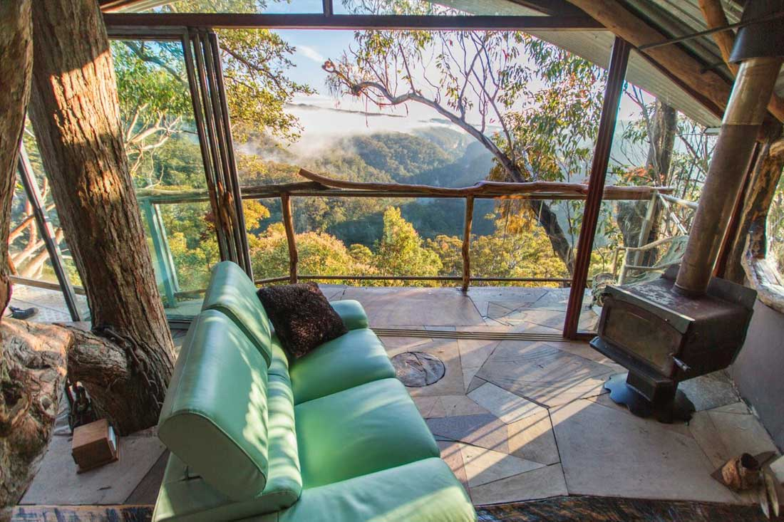 Cabins - Wollemi Wilderness Treehouse on amazing mansions, fairy houses, amazing treehouses of the world, awesome houses, amazing treehouse homes, amazing trucks, amazing hotels, cool houses, amazing architecture, unusual houses, amazing flowers, amazing bathrooms, amazing pools, amazing kitchens, crazy houses, prettiest houses, goat houses, amazing chairs, strange houses, tiny houses,
